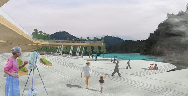龙虎山风景区修建性规划:正一观码头景观